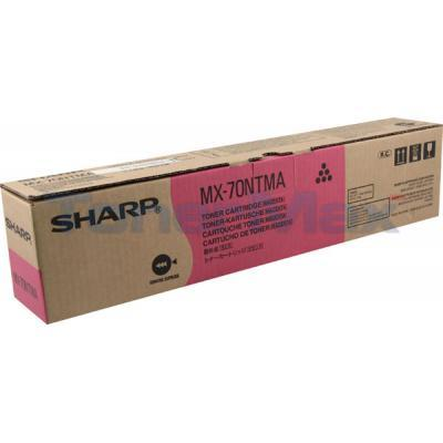 SHARP MX-6200N/7000N TONER CART MAGENTA